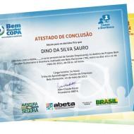Identidade Visual – Certificados Bem Receber Copa ABETA