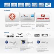 Webdesign – Portal iSend