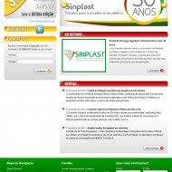 Webdesign – Website SINPLAST
