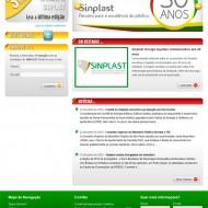 Webdesign – Website SINPLAST