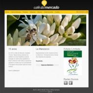 Webdesign - Site Café do Mercado